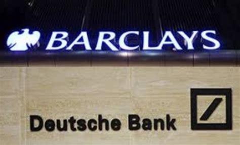 Deutsche Bank V 224 Barclays Gặp Hạn ở Mỹ Quốc Tế