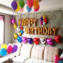 husband birthday decoration ideas at home best 25 balloon birthday themes ideas on baby