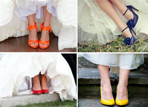 Wedding Shoes Color by Colour Popping Tulipdesigns Theblog