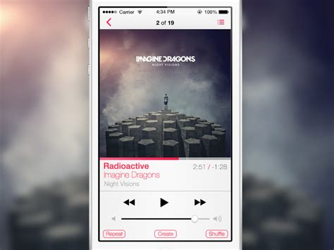 ios 7 player apk ios 7 player by ross legacy dribbble