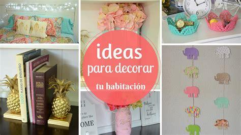 manualidades decorar habitacion ideas para decorar tu habitaci 211 n