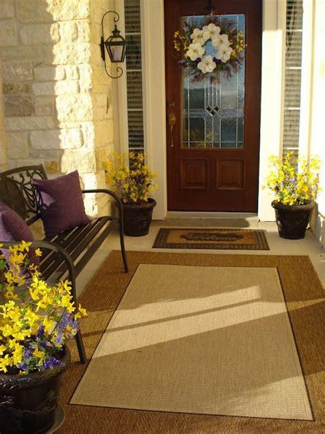 large mat   smaller mat   front door