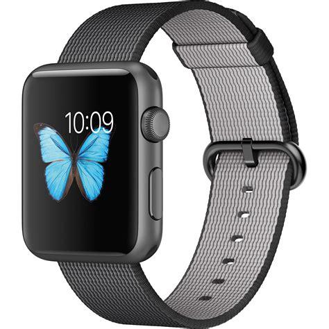 wallpaper apple watch nylon apple watch sport 42mm smartwatch mmfr2ll a b h photo video