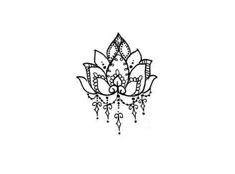 henna tattoo designs lotus lotus flower temporary temporary tattoos more