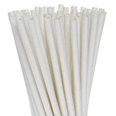 How To Make Paper Straws - white paper straws canada bulk and restaurant use