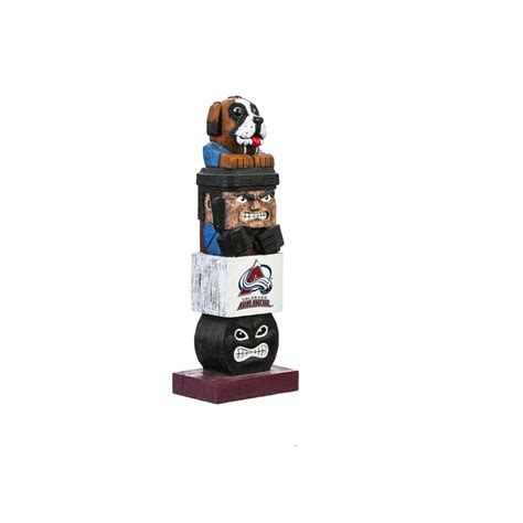 evergreen colorado avalanche tiki totem garden statue