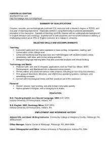 Resume For Teachers With No Experience Examples Sample Resumes For Teachers With No Experience