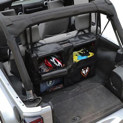 jeep wrangler storage 2015 jeep wrangler rightline gear custom cargo area