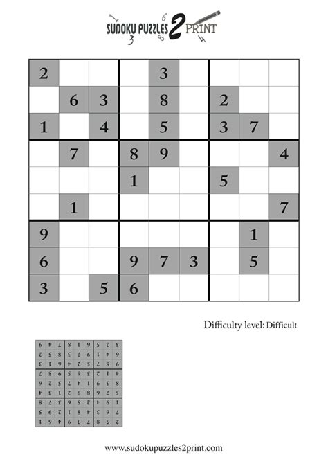 printable sudoku puzzles difficulty 4 difficult sudoku puzzle to print 4