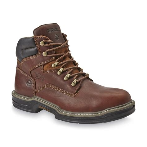 sears boots for mens wolverine s 6 quot soft toe work boot w02421 brown