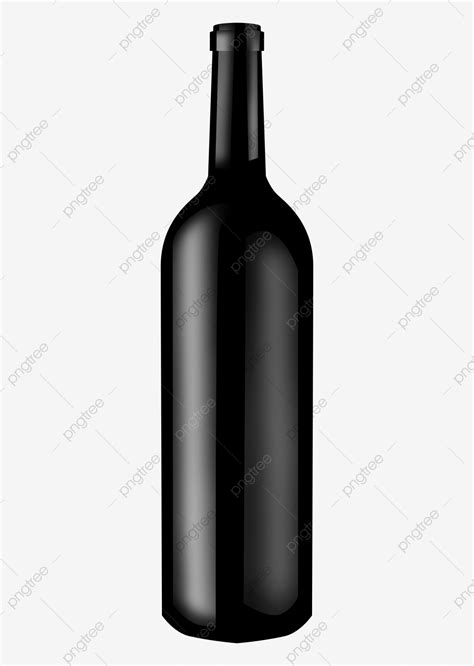 Imported Wine Bottle, Black Wine, Red Wine Bottle, Bottle