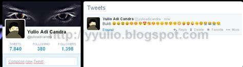 cara membuat emoticons twitter cara membuat emoji emoticons di twitter yulio adi candra