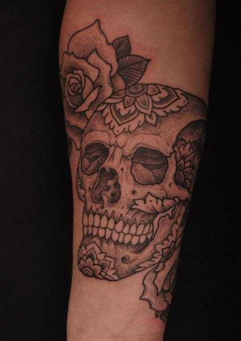 tribal skull tattoo images popular skull tattoos tribal tattooed images