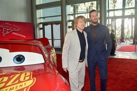 owen wilson cars cars 3 world premiere experience riding rides with the