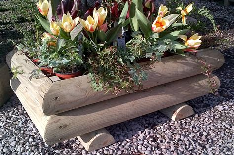 The Planters by Garden Planters The Wooden Workshop Oakford