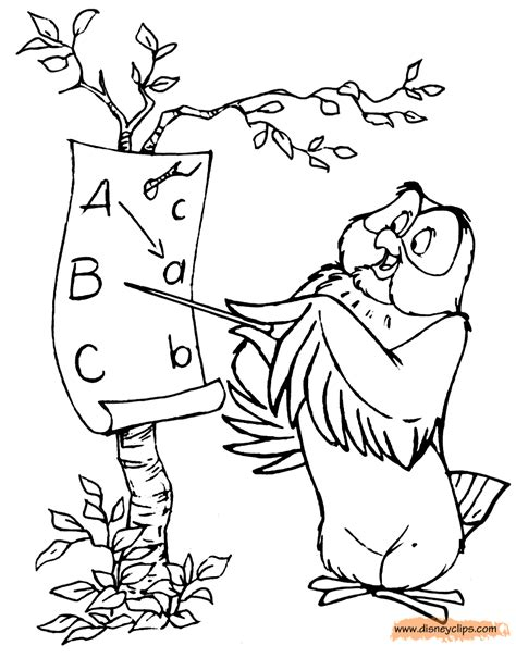 sleeping owl coloring page winnie the pooh owl coloring pages www pixshark com