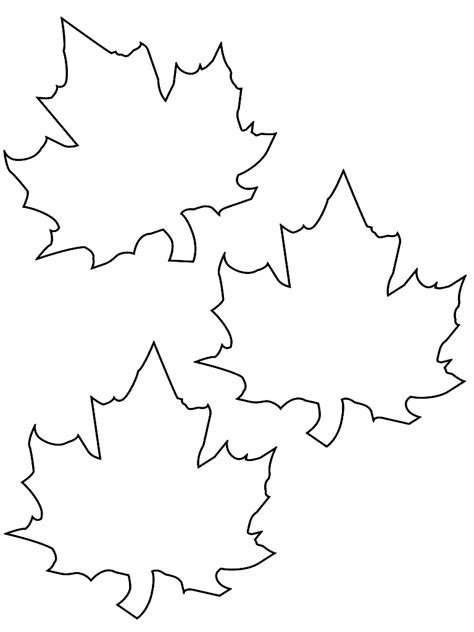 fall leaf template fall leaf template cyberuse
