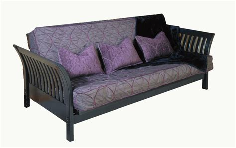 futon loveseat frame flair black loveseat futon frame by strata furniture