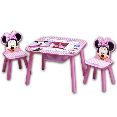 kinder tisch stuhl disney kindersitzgruppe ablagefach kinderzimmer kinder