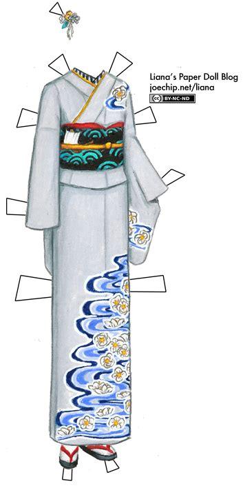kimono water pattern grey kimono with floating white camellia pattern inspired