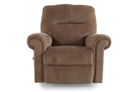 recliner com ashley skyeslee mocha rocker recliner mathis brothers