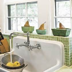 Kitchen Sink With Backsplash by Retro Reproduction Sink Farmhouse Sinks With Vintage