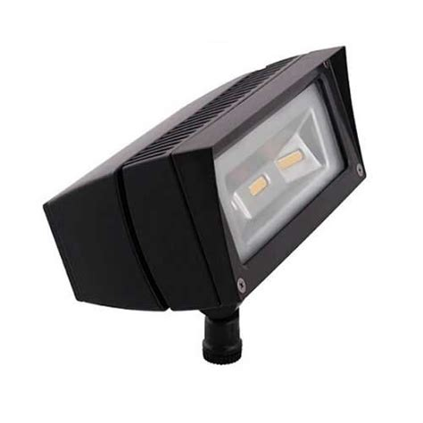 Outdoor Led Flood Light Fixture Rab Ffled18y 219 95 Ffled18y 18w Led Flood Light Fixture 3000k Outdoor Bronze