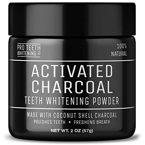 activated charcoal teeth whitening powder vegan award