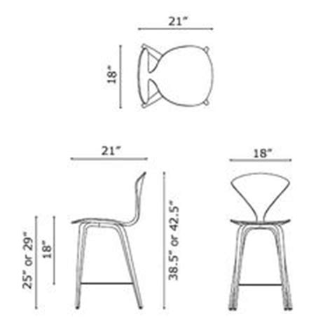 Stool Dimensions by Bar Stool Dimensions Guide Search Seating