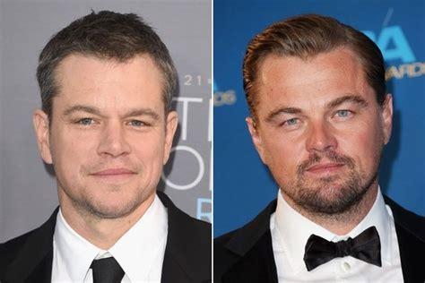 Matt Damon Jokes About Leonardo Dicaprio S Harrowing