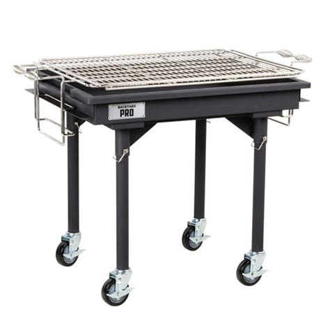 backyard pro 30 quot charcoal grill with removable legs and