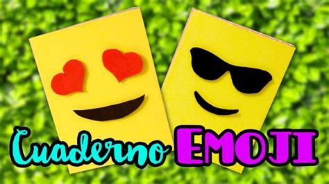 como hacer un fondo con emojis youtube decora tus cuadernos con emojis intercambiables por lau