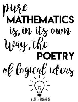 printable math quotes math quote bundle by burke work teachers pay teachers