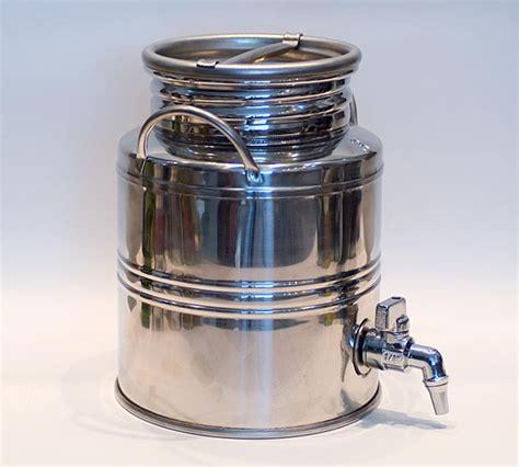 Bidon 50 Litres Avec Robinet by Destockage Noz Industrie Alimentaire