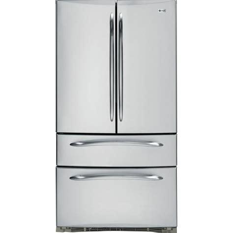 ge counter depth door ge profile 20 8 cu ft door refrigerator in