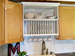 Kitchen Cabinets Plate Rack by Remodelaholic Upgrade Cabinets By Building A Custom
