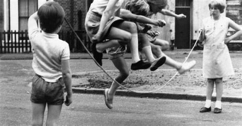 503325 the road to zennor girls jump rope in zennor road paul kaye pictures