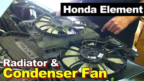 Kipas Radiator R 2003 2011 honda element radiator and condenser cooling fan