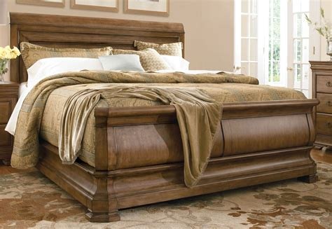 sleigh bed queen new lou louie philips queen sleigh bed from universal