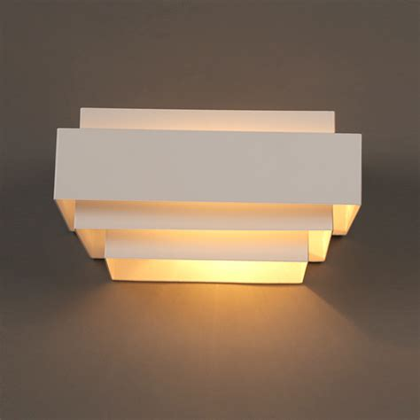 Modern Wall Lighting Fixtures Aliexpress Buy Modern White Box Wall Ls Bedroom Bedside Wall Lights Bathroom Kitchen