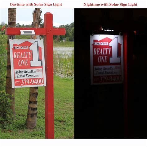 estate sign lights solar powered estate sign light ebay