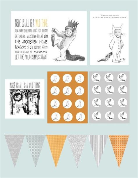 printable version of where the wild things are 17 best images about where the wild things are on