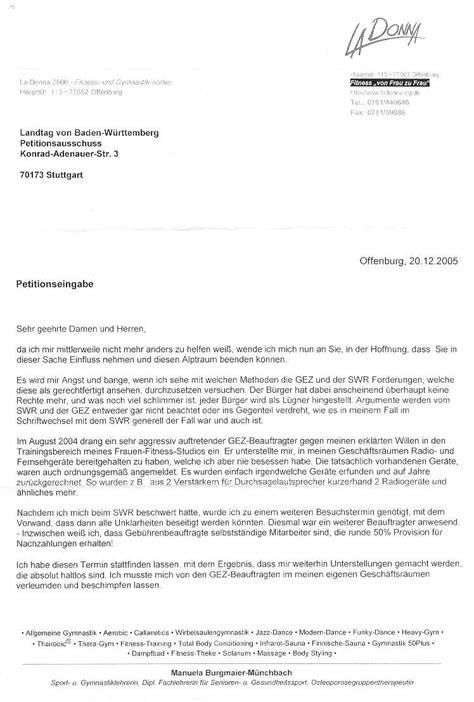 Bewerbung Hochschule Per Einschreiben Fitnessfall Geb 252 Hrenerhebung Durch Straftaten