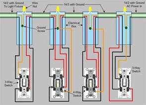 4 way switch installation circuit style 3