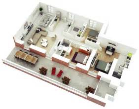 Small Home Floor Plans With Pictures 25 more 3 bedroom 3d floor plans architecture amp design