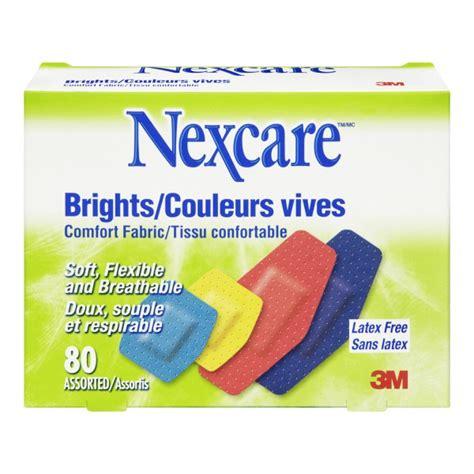 nexcare comfort fabric bandages buy 3m nexcare brights comfort fabric bandages in canada