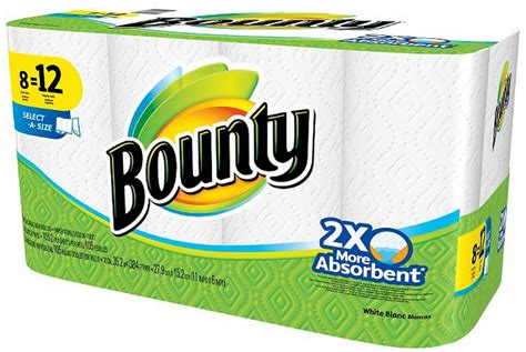 Who Makes Bounty Paper Towels - 6 74 reg 14 49 bounty paper towels at target 0