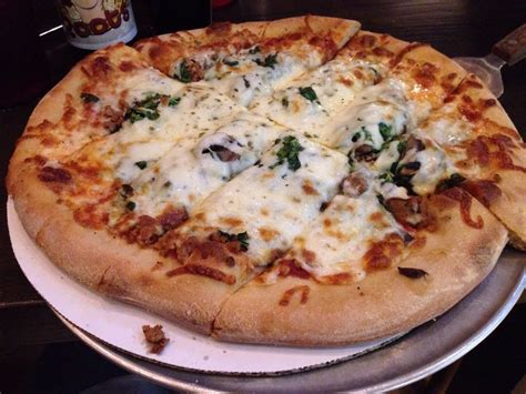 Roots Handmade Pizza - sausage spinach pizza yelp