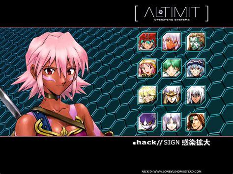 dot hack image gallery
