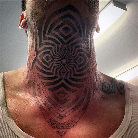 established tattoo design 80 throat tattoos for cool masculine design ideas